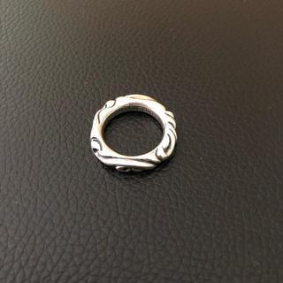 クロムハーツ(Chrome Hearts)のスクロール バンドリング クロムハーツ  ルブタン  ジミーチュウ(リング(指輪))