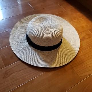 エイチアンドエム(H&M)のH&M カンカン帽(麦わら帽子/ストローハット)