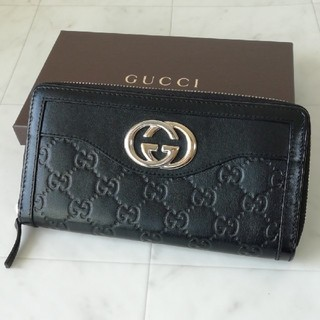 d68080a0feed グッチ ミニ 財布(レディース)(ブラック/黒色系)の通販 50点 | Gucciの ...