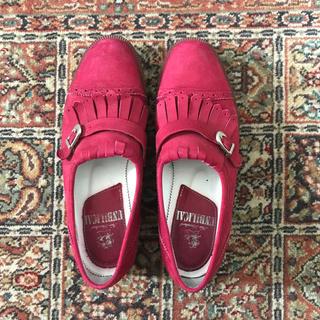 アンビリカル(UNBILICAL)のアンビリカル  UNBILICAL ローファー 赤 tokyobopper(ローファー/革靴)