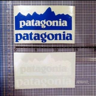 patagonia - パタゴニア ステッカー 白 2枚セット