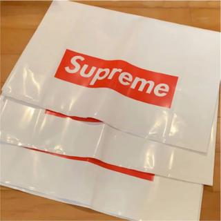 シュプリーム(Supreme)のSupreme ショッパー 大 3枚 BOX ロゴ(ショップ袋)