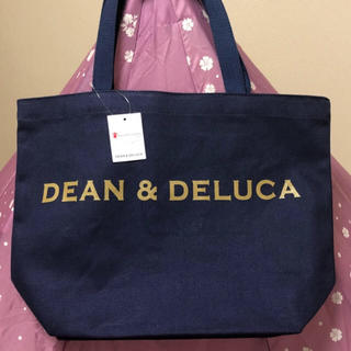 ディーンアンドデルーカ(DEAN & DELUCA)の即日発送 新品/タグ付き DEAN&DELUCAトートバック ネイビーM(トートバッグ)