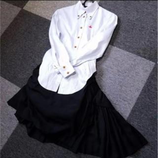 ヴィヴィアンウエストウッド(Vivienne Westwood)のヴィヴィアン シャツ スカート セット(シャツ/ブラウス(長袖/七分))