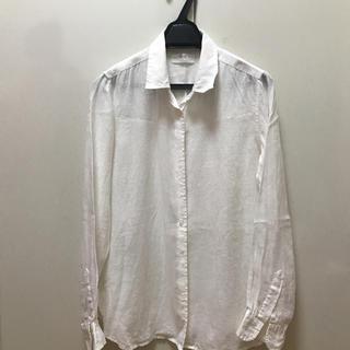 ユニクロ(UNIQLO)のユニクロリネンシャツ(シャツ/ブラウス(長袖/七分))