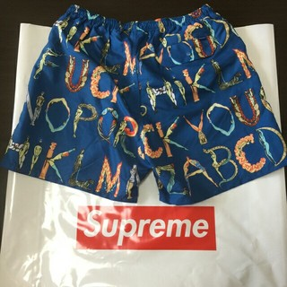 シュプリーム(Supreme)のSupreme Alphabet Water Short(水着)