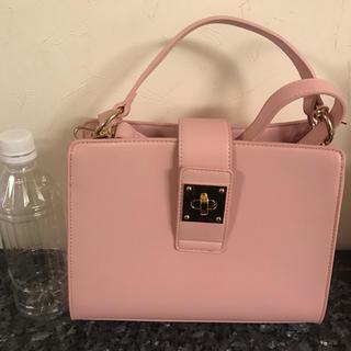 7aa72e79a25c フォーエバートゥエンティーワン(FOREVER 21)のピンク ショルダーバッグ ハンドバッグ(ハンドバッグ)