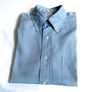 7a8fadae2690fd ブルックスブラザース(Brooks Brothers)の美品 ブルックスブラザーズ ボタンダウンシャツ ブルー 青