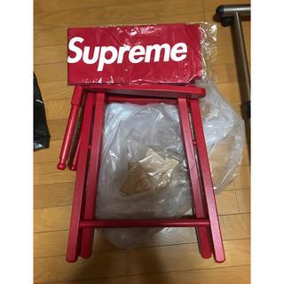 シュプリーム(Supreme)の Supreme Director's Chair RED 赤 椅子 レッド(折り畳みイス)