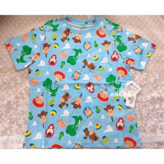 トイストーリー(トイ・ストーリー)の日本未発売 上海ディズニー トイストーリー ロッツォ キッズ Tシャツ 120(Tシャツ/カットソー)