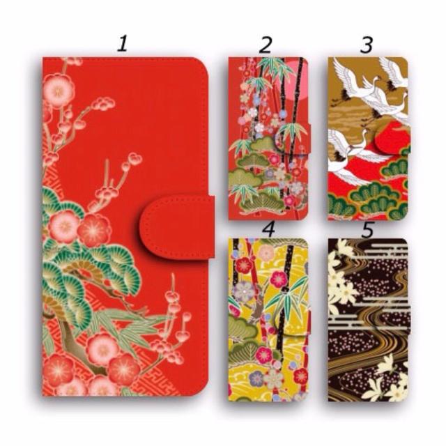 iphone ケース 6 8 、 和柄 スマホケース 手帳型 スマホカバー ほぼ全機種対応 鶴 ツルの通販 by ララ 's shop|ラクマ