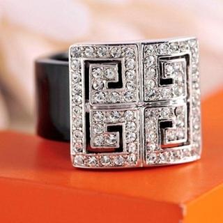 高品質AAA級CZダイヤ ボリューム  ファッションリング(リング(指輪))