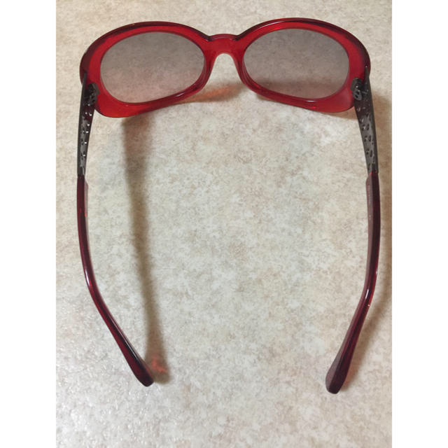 alanmikli(アランミクリ)のアランミクリ サングラス 赤 レッド メンズのファッション小物(サングラス/メガネ)の商品写真