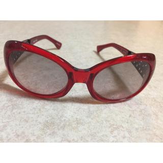 アランミクリ(alanmikli)のアランミクリ サングラス 赤 レッド(サングラス/メガネ)