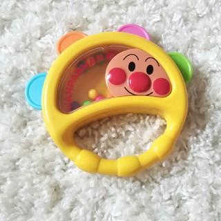 アンパンマン(アンパンマン)のアンパンマン ベビータンバリン(楽器のおもちゃ)