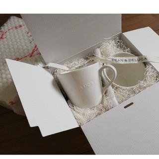 ディーンアンドデルーカ(DEAN & DELUCA)の新品 箱付き ディーンアンドデルーカ マグカップ 2個セット(グラス/カップ)