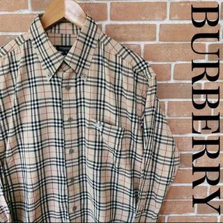バーバリー(BURBERRY)のBURBERRY バーバリー ロンドン BDシャツ ノバチェック 0514(シャツ)