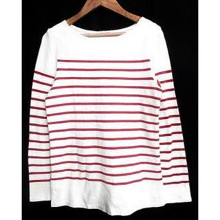 フリークスストア(FREAK'S STORE)の赤ボーダーTシャツ(Tシャツ(長袖/七分))