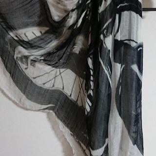 ファリエロサルティ(Faliero Sarti)のファリエロサルティ falierosarti ストール バイク柄  保存袋付き(ストール/パシュミナ)