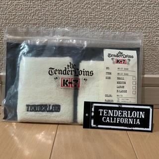 テンダーロイン(TENDERLOIN)のレア未使用 タグ付き TENDERLOIN  WRIST BAND WHITE(バングル/リストバンド)