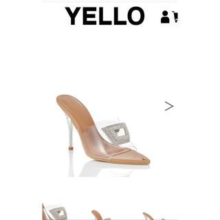 イエローブーツ(Yellow boots)のO2 CRYSTAL EMBLEM SANDALS(サンダル)