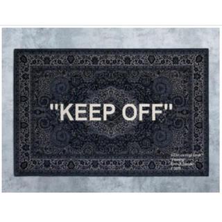 イケア(IKEA)のIKEA × Virgil Abloh ラグマット 新品未使用(ラグ)