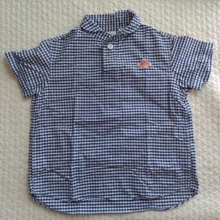 ダントン(DANTON)のダントン ギンガムチェックシャツ 34(シャツ/ブラウス(半袖/袖なし))