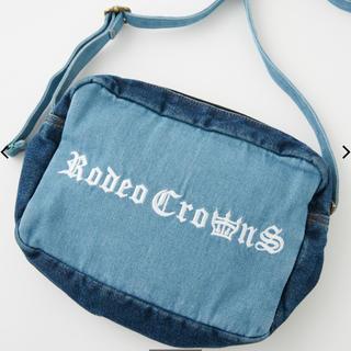 ロデオクラウンズワイドボウル(RODEO CROWNS WIDE BOWL)の限定 RODEO CROWNS 0528 コンビデニム ポシェット(ショルダーバッグ)