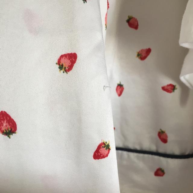 GU(ジーユー)のサテンパジャマ ホワイト レディースのルームウェア/パジャマ(パジャマ)の商品写真