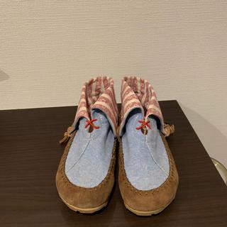 インディアン(Indian)のインディアンモトサイクルの靴(スリッポン/モカシン)