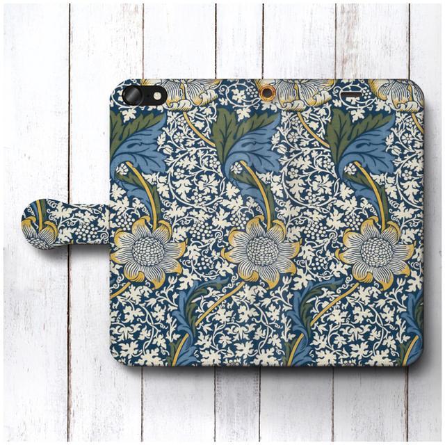 可愛い スマホケース iphone8 / ウィリアムモリス スマホケース手帳型 全機種対応型の通販 by NatureMate's shop|ラクマ
