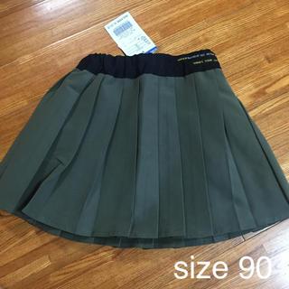 ブリーズ(BREEZE)の未使用☆ブリーズ プリーツスカート 90cm(スカート)