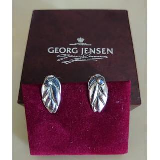 ジョージジェンセン(Georg Jensen)のジョージジェンセン ムーン ストーン 幻の360  イヤリング(イヤリング)