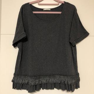 シップスフォーウィメン(SHIPS for women)のはるちゃん様専用SHIPS khaju☆裾デザインTシャツ(Tシャツ(半袖/袖なし))
