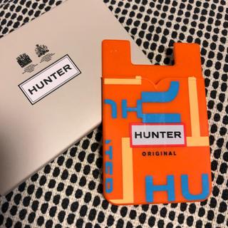 ハンター(HUNTER)のHUNTERカードケース/ホルダー ラバー(名刺入れ/定期入れ)