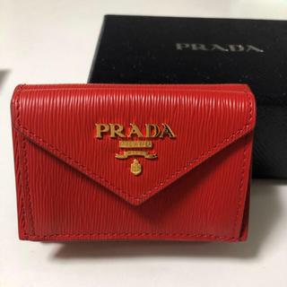 b9beeb8bcb60 プラダ コインケース(レッド/赤色系)の通販 64点 | PRADAを買うならラクマ