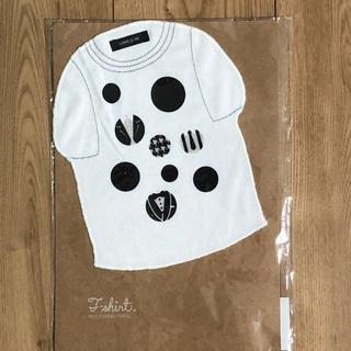 コムサイズム(COMME CA ISM)の新品 ☆ コムサイズム Tシャツ型 ハンカチ(ハンカチ)