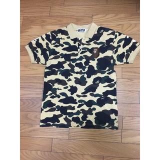 アベイシングエイプ(A BATHING APE)の中古APE迷彩ポロシャツM大猿93(ポロシャツ)