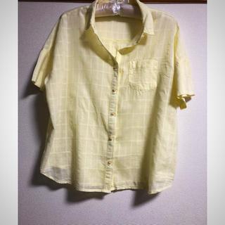 ダブルネーム(DOUBLE NAME)のコットンシャツ(シャツ/ブラウス(半袖/袖なし))