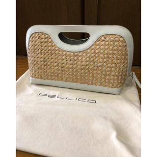 ペリーコ(PELLICO)のペリーコ  ANELLI CESTO バッグ 美品(クラッチバッグ)