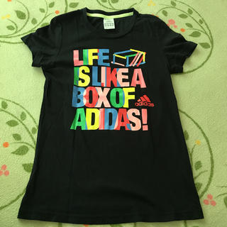 アディダス(adidas)のadidas レディース tシャツ(Tシャツ(半袖/袖なし))