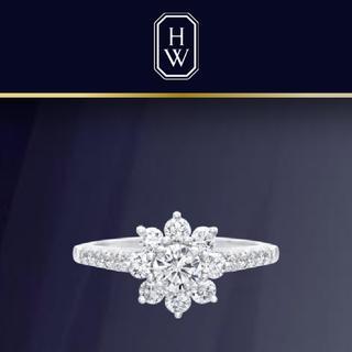 ハリーウィンストン(HARRY WINSTON)の新品同様 HARRY WINSTON サンフラワー(リング(指輪))