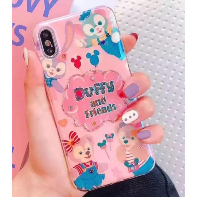 アイフォーン8 ケース ケイトスペード - ダッフィー - ダッフィー  フレンズ  シェリーメイ   IPhone 携帯ケース  キラキラの通販 by ゆずき's shop|ダッフィーならラクマ