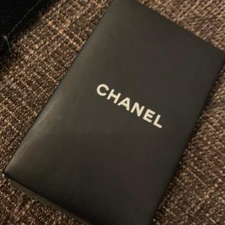 シャネル(CHANEL)のシャネル CHANEL あぶらとり紙 ミラー ショップ袋つき(その他)