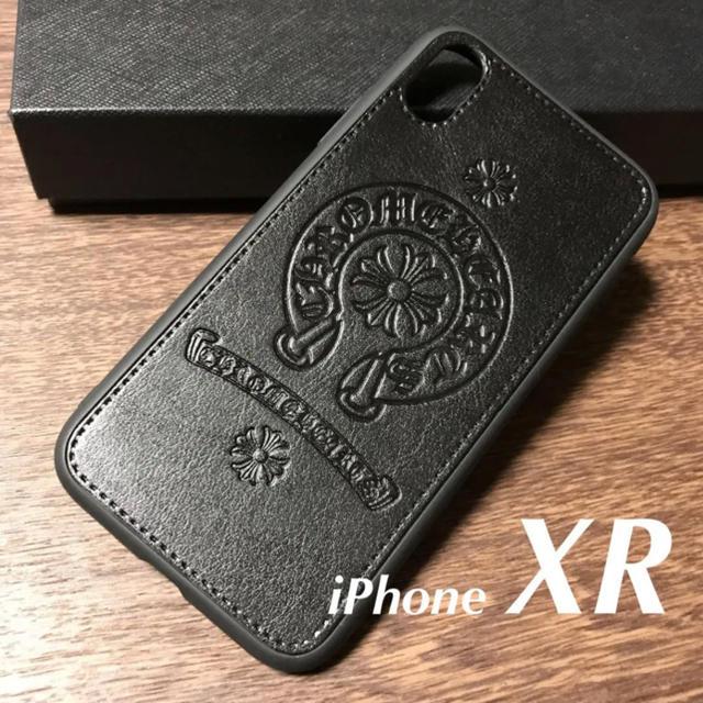 【新品】iPhoneXR クロム風PUレザーケースの通販 by kaz@iPhone |ラクマ