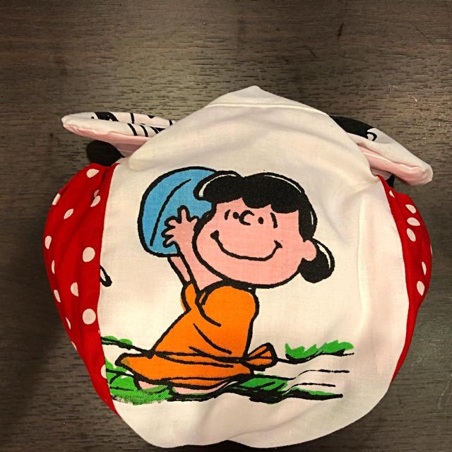 SNOOPY(スヌーピー)のスヌーピー お弁当巾着袋 キッズ/ベビー/マタニティのこども用バッグ(ランチボックス巾着)の商品写真