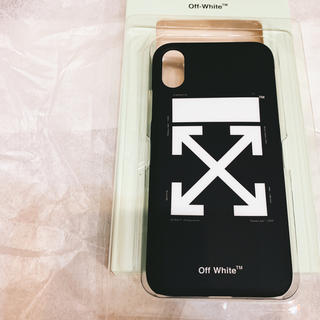オフホワイト(OFF-WHITE)の OFF-WHITE iPhoneX iPhoneXs(iPhoneケース)