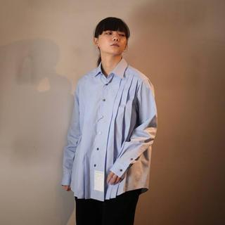 マルタンマルジェラ(Maison Martin Margiela)のSOSHIOTSUKI  Accordion Dress Shirts(シャツ)