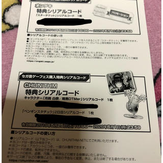 セガ(SEGA)のセガ 音ゲーフェス 入場特典 シリアルコード(その他)