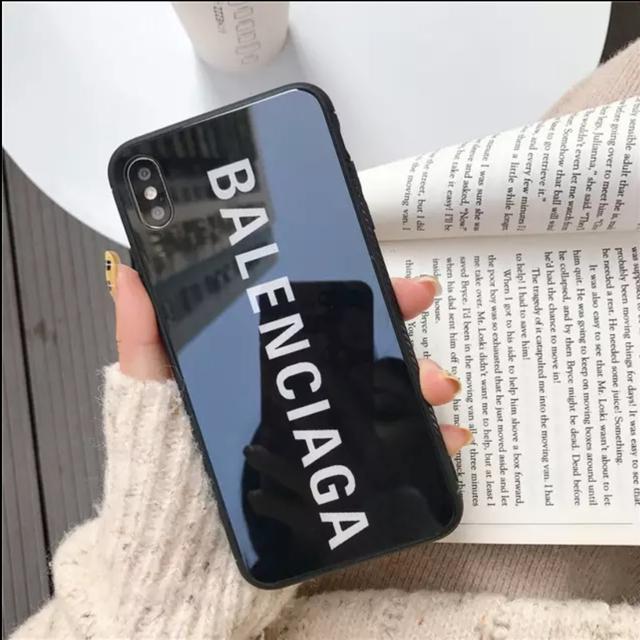 グッチ iphonexr ケース 財布型 、 Balenciaga - 【翌日発送可能】iPhone ブラックケースの通販 by coco♡'s shop|バレンシアガならラクマ